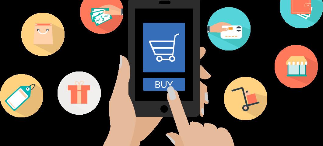 mobile ecommerce 1061x480 - Como os smartphones mudaram o e-commerce