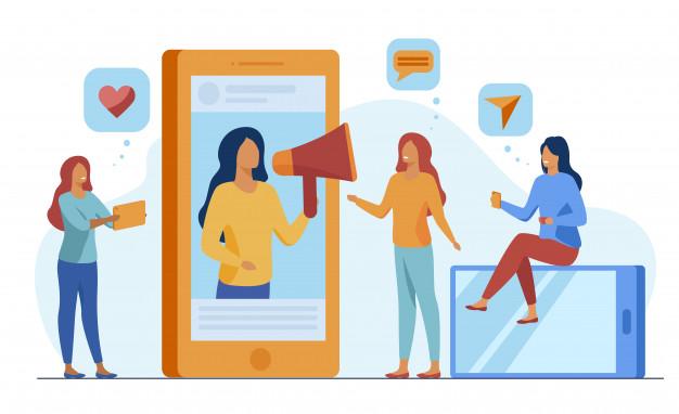 blogger promoting product service social media 74855 4369 - O coronavírus interrompeu seu negócio B2B ? E Agora?