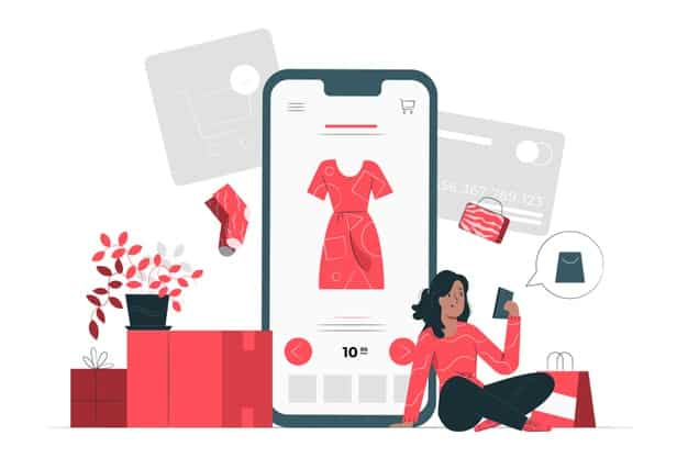online shopping concept illustration 114360 1084 - O coronavírus interrompeu seu negócio B2B ? E Agora?