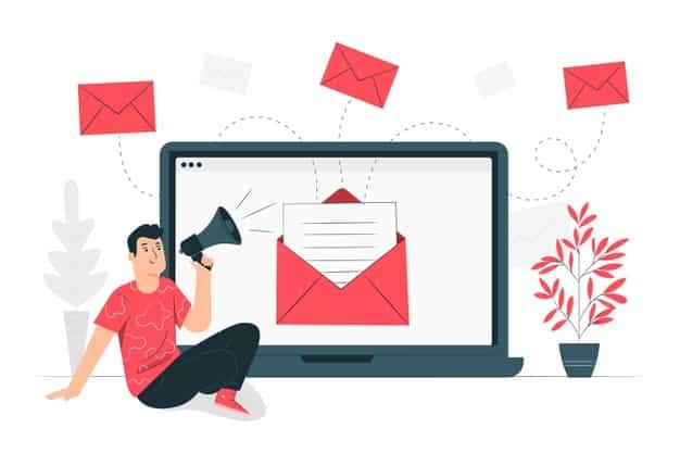 ilustracao de conceito de campanha de e mail 114360 1633 - E-mail marketing funciona para e-commerce? Entenda!