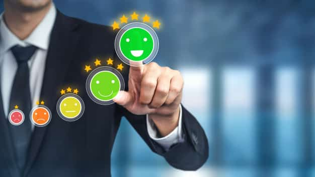 cliente rever o conceito de pesquisa de feedback de satisfacao 31965 6888 - Conquiste a confiança do cliente no seu E-commerce